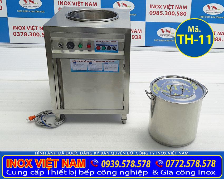 Quầy hâm nóng thức ăn, Tủ hâm nóng thức ăn, Tủ làm nóng thức ăn 50l sản xuất Inox Việt Nam.
