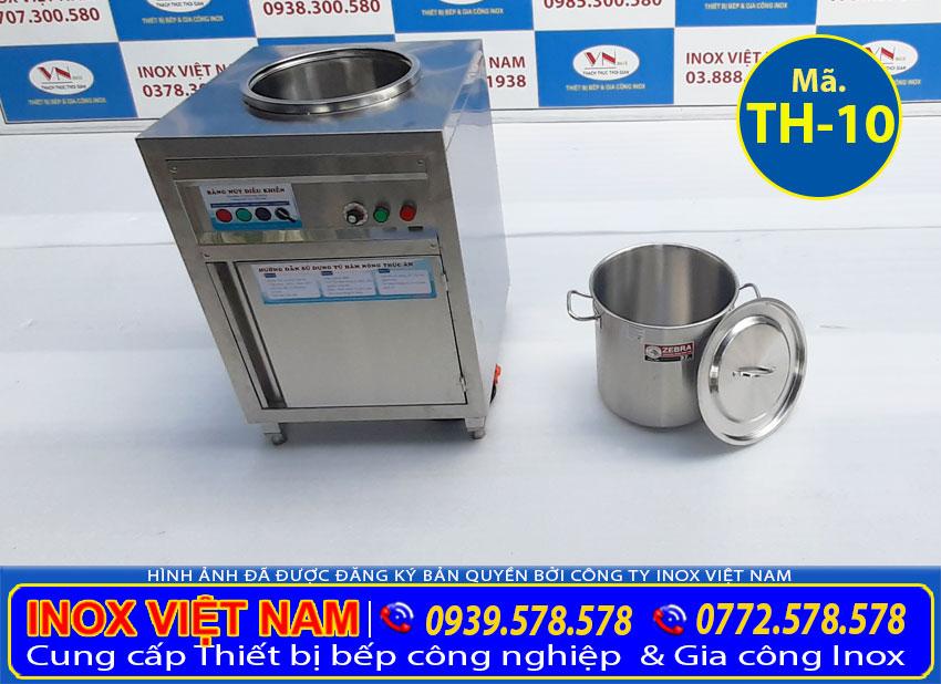 Tủ giữ nóng món ăn, Tủ giữ nóng canh, Tủ giữ nóng nước lèo, Tủ hâm nóng inox chất lượng cao.