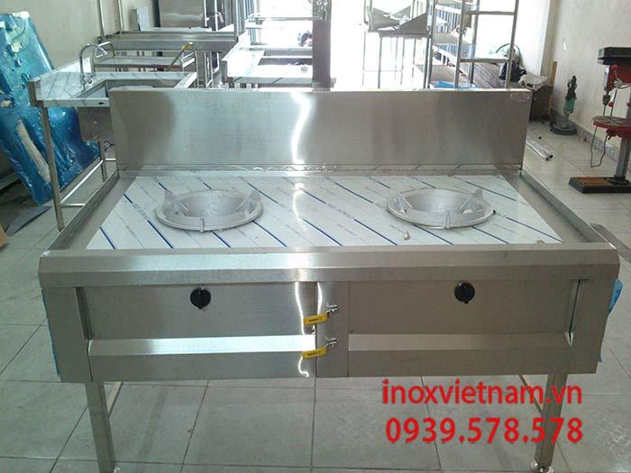 Bếp á 2 họng đốt thiết bị nhà bếp đáng sở hữu