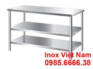 Bàn Inox 3 Tầng