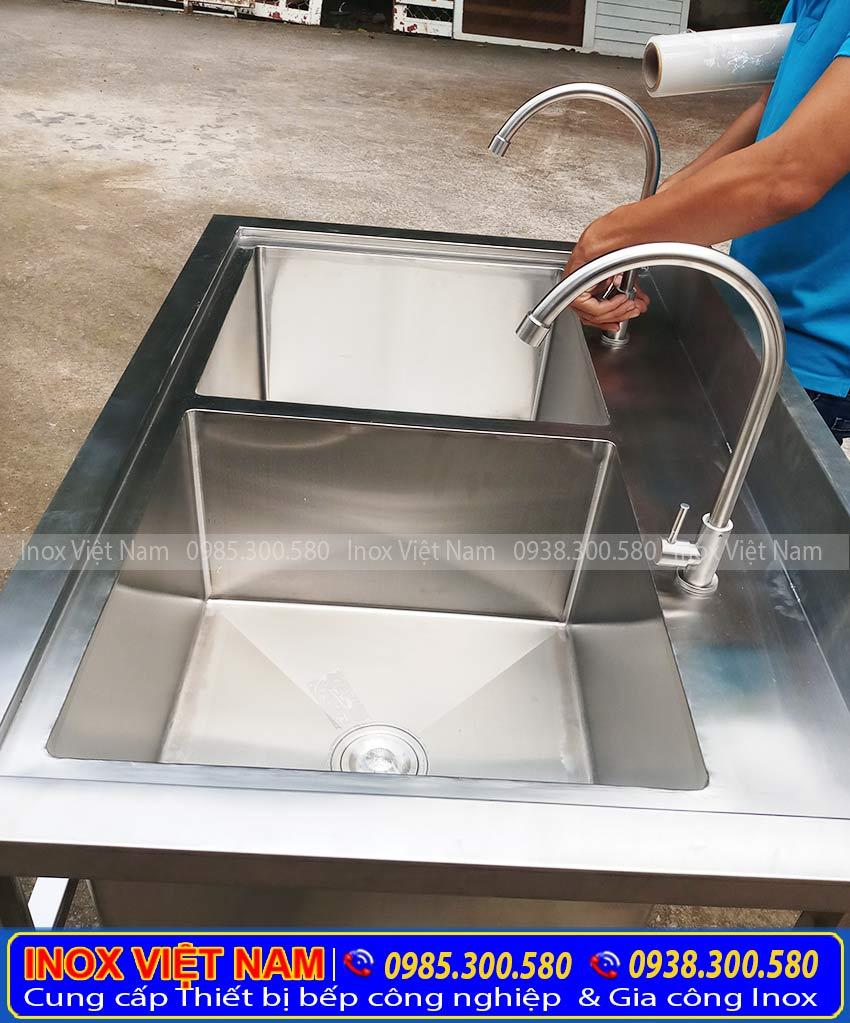 bồn rửa chén 2 ngăn