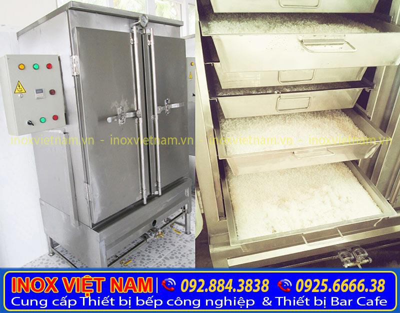 Hướng dẫn sử dụng tủ nấu cơm 100kg gas