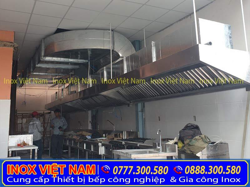 Dịch vụ thi công hệ thống hút khói bếp công nghiệp