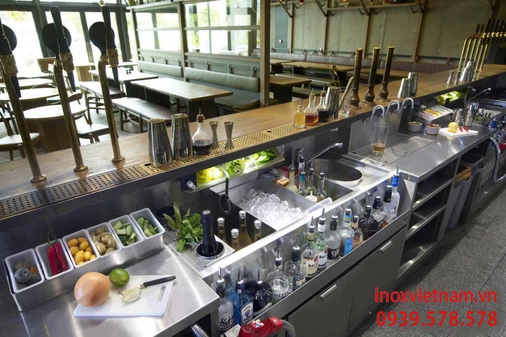 Thiết bị bar và cafe tạo ra điểm nhấn cho không gian quá