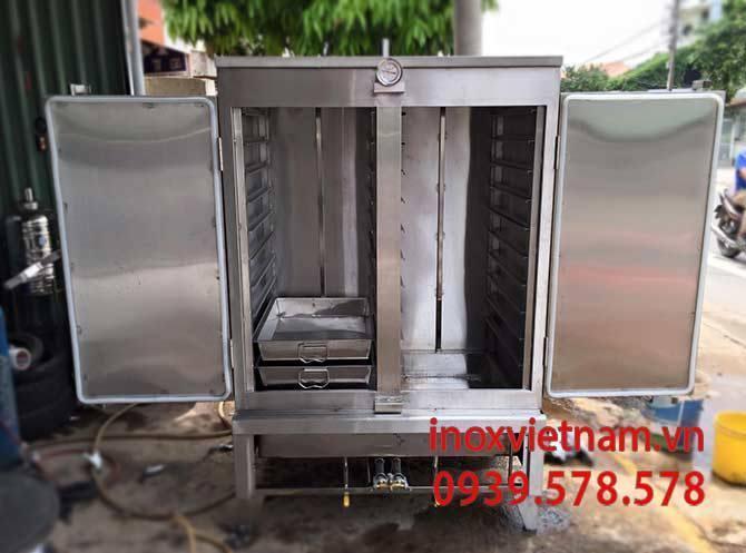 Những lưu ý khi sử dụng tủ nấu cơm 100kg bằng điện và gas