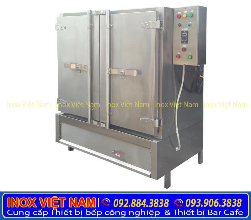 Bộ phận điều khiển tủ nấu cơm 100kg điện và gas