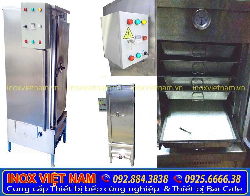 Những ưu điểm khẳng định chất lượng của tủ nấu cơm 80kg gas