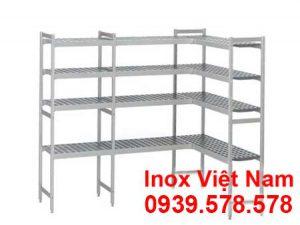 Kệ Inox 4 Tầng Chữ l - KN01