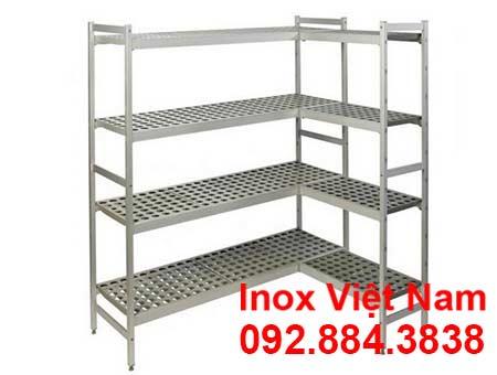Kệ Inox Chữ L 4 Tầng - 02