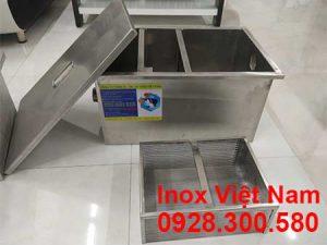 lắp đặt bể tách mỡ inox