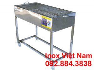 Lò nướng BBQ inox | bếp nướng sườn cơm tấm inox