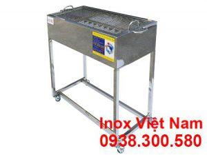 Lò nướng than inox ngoài trời LN-03