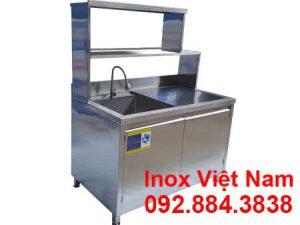 Tủ Inox Có 1 Bồn Rửa TUI-10