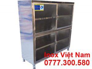 Báo giá tủ đựng chén bát 4 tầng inox, địa chỉ bán tủ inox 4 tầng tại TPHCM.