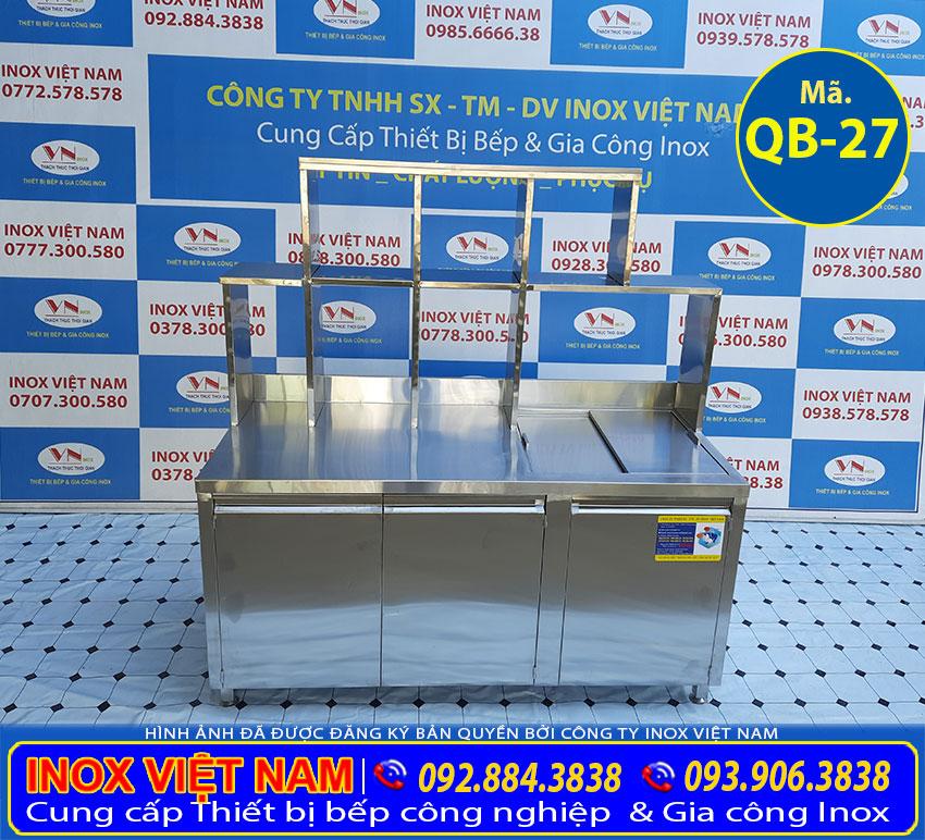 Inox Việt Nam là đơn vị cung cấp và sản xuất quầy bar pha chế inox hàng đầu Việt Nam.