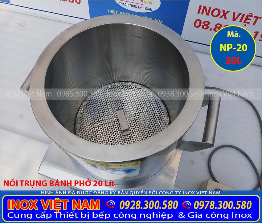 Mua bộ nồi nấu phở bằng điện, nồi nấu nước lèo, nồi nấu hũ tiếu bằng điện sản xuất Inox Việt Nam