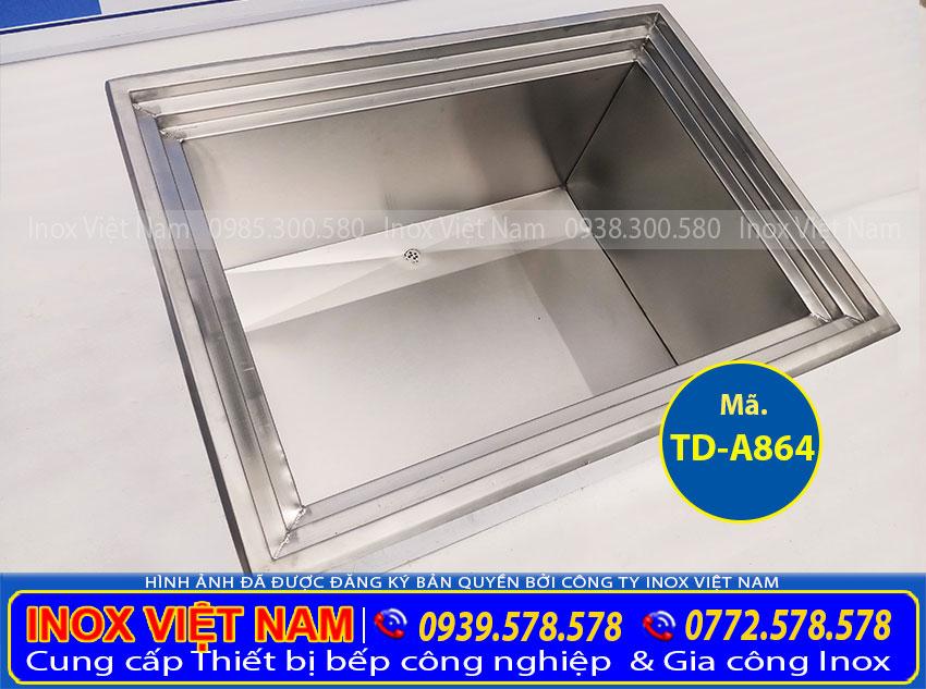 Thùng đá inox| Tủ đá inox cao cấp sản xuất Inox Việt Nam.