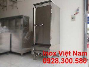 tủ nấu cơm công nghiệp 50kg bằng gas