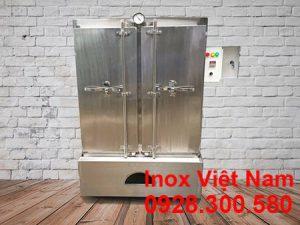 tủ nấu cơm công nghiệp 80kg điện và gas
