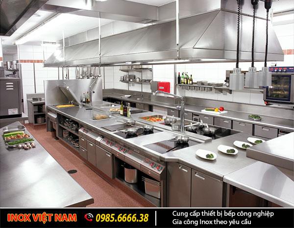 Inox Việt Nam chuyên cung cấp các mặt hàng bếp công nghiệp chất lượng cao.