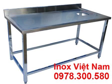 Báo giá bàn bếp inox Bàn bếp inox mặt đá | Bàn bếp inox gia đình Bàn bếp inox có chậu rửa | Bàn bếp inox nhà hàng Bạn bếp inox mini