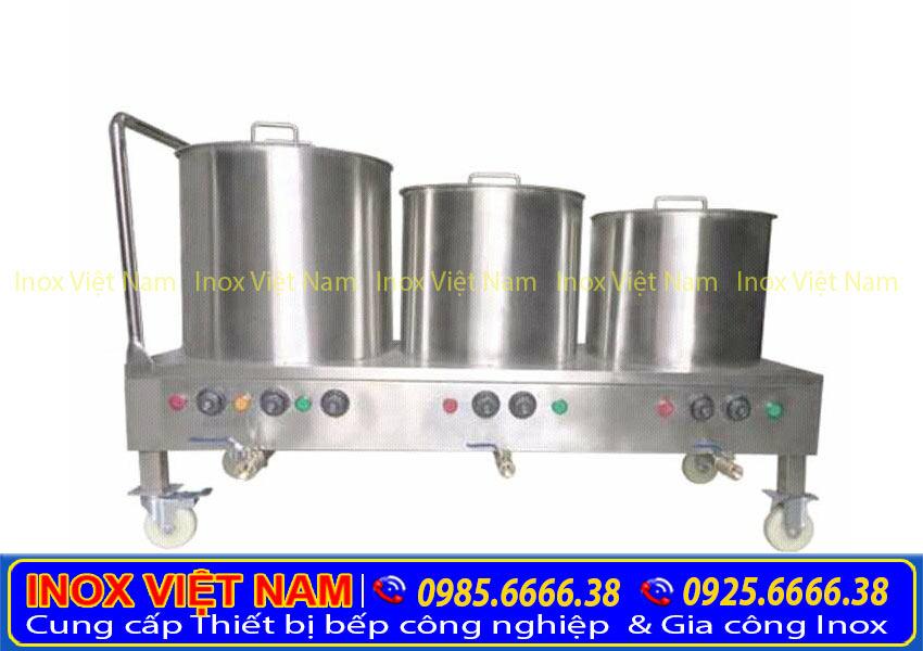 Bộ nồi nấu phở bằng điện giá bao nhiêu tiền, khách hàng thường xuyên đặt câu hỏi, hãy đến Inox Việt Nam để được tư vấn và báo giá.