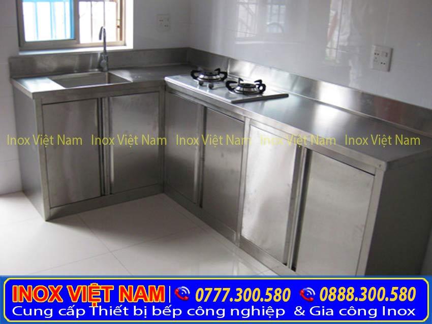 tủ bếp inox 304 chất lượng cao