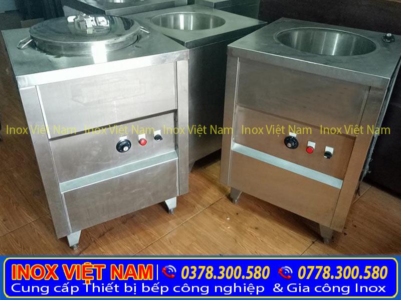 Tủ hâm nóng 1 nồi giúp hâm nóng thức ăn trong thời gian ngắn