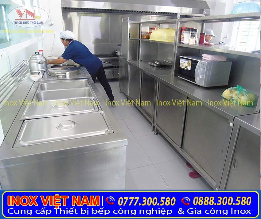 Tủ hâm nóng 2 nồi tạo sự chuyên nghiệp cho khu bếp