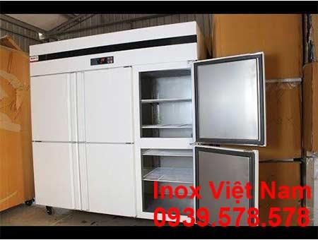 Chi tiết của tủ lạnh công nghiệp tủ đông 6 cánh