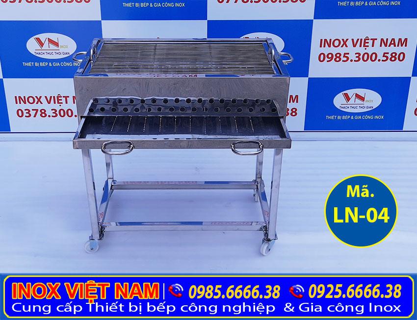 Bếp nướng bbq inox LN-04