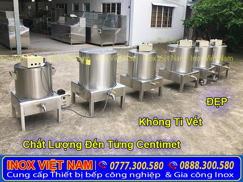 nồi nấu phở bằng điện đẹp chất lượng tại Bếp Inox Việt Nam
