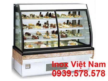 Tủ trưng bày bánh kém thông dụng nhất trên thị trường