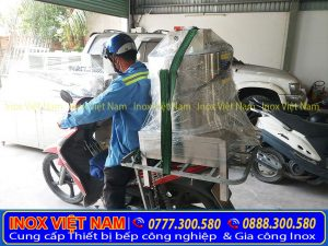 dịch vụ giao hàng lắp đặt tận tâm tại bếp Inox Việt Nam
