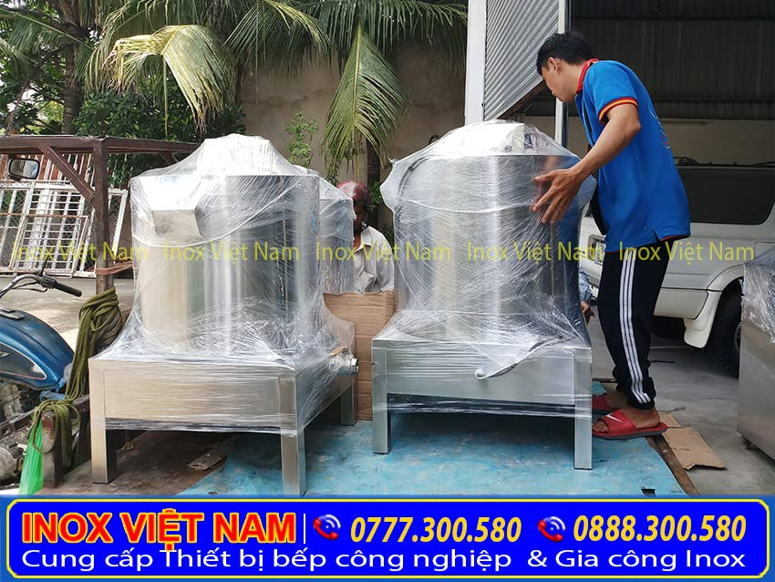 Hình ảnh giao hàng tận nơi tại Bệp Inox Việt Nam