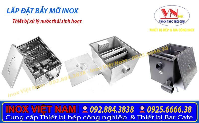 Những lợi ích bể tách mỡ công nghiệp, bẫy mỡ inox, thùng lọc mỡ bếp nhà hàng mang lại