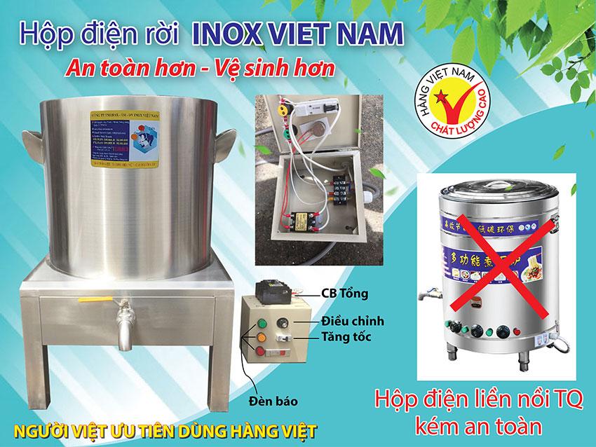 Nồi nấu phở bằng điện| Nội điện nấu Hũ Tiếu Việt Nam chất lượng cao.