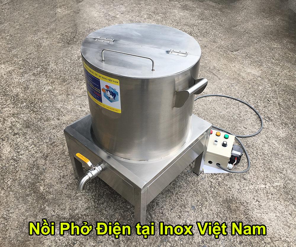 nồi phở điện Inox Việt Nam