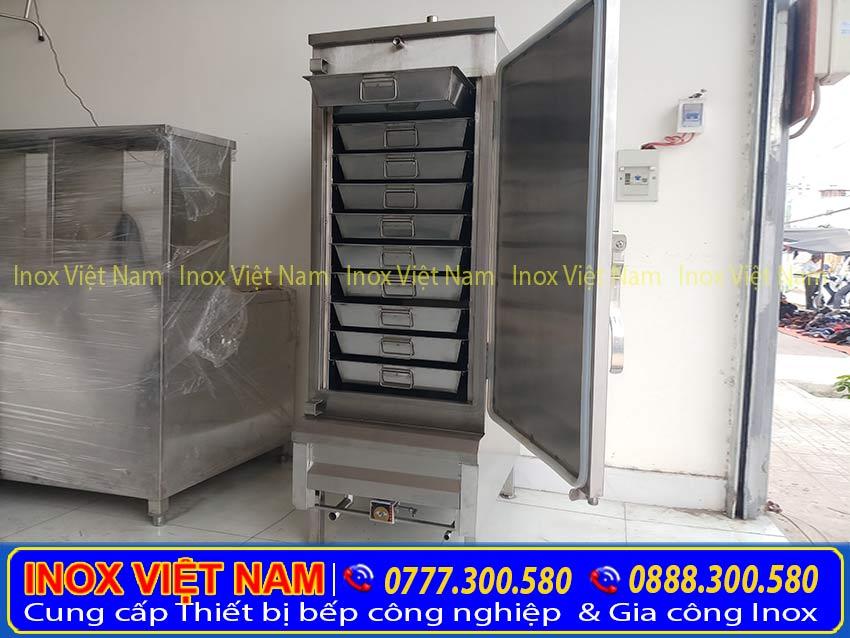 tủ hấp cơm công nghiệp 50kg