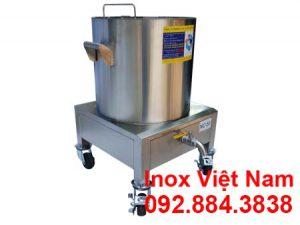 Nồi nấu cháo điện 100L| Nồi hầm cháo dinh dưỡng bằng điện Inox 304 Cao cấp.