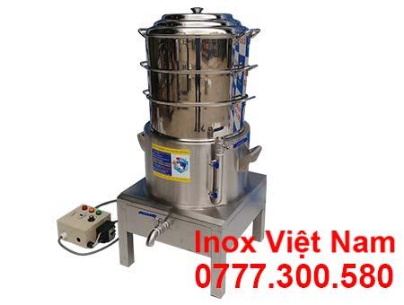 Nồi Hấp Bánh Bao Bằng Điện 3 Tầng NHBB-D440-3T