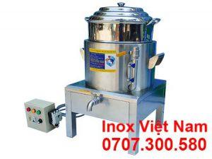Nồi hấp bánh bao điện công nghiệp 1 tầng D400, NHBB-D400-4T