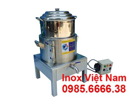 Nồi điện hấp cơm tấm công nghiệp 1 tầng, NHCT D400-1T