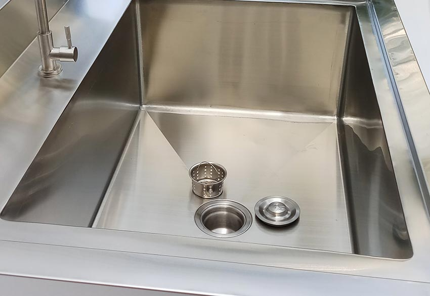 Chi tiết chậu rửa inox công nghiệp chất lượng, chính hãng và sang trọng