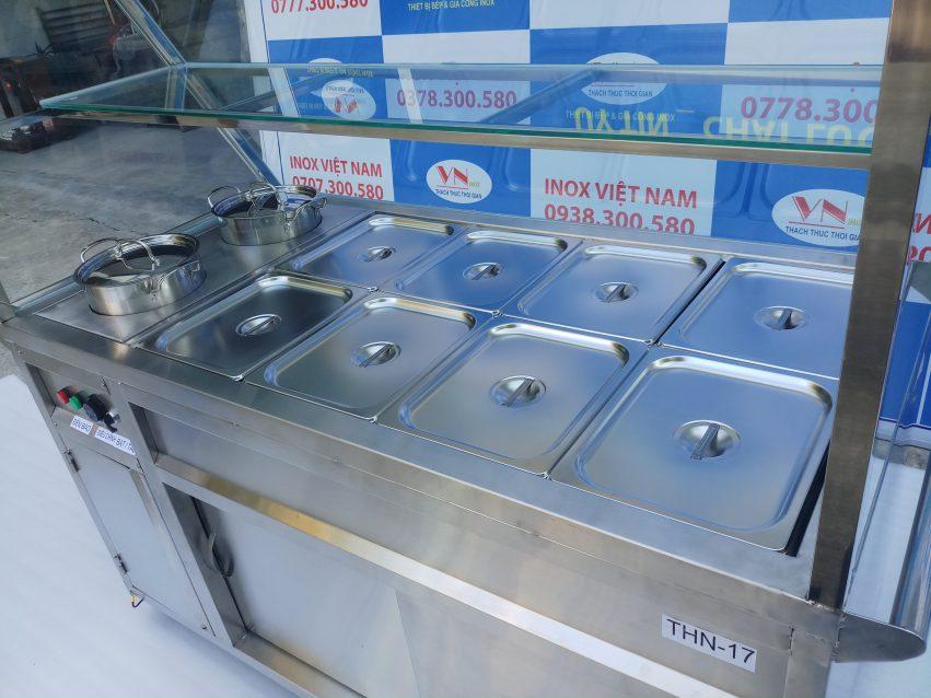 Tủ hâm nóng thức ăn, thủ hâm nóng đa dạng mẫu mã và kích thước.