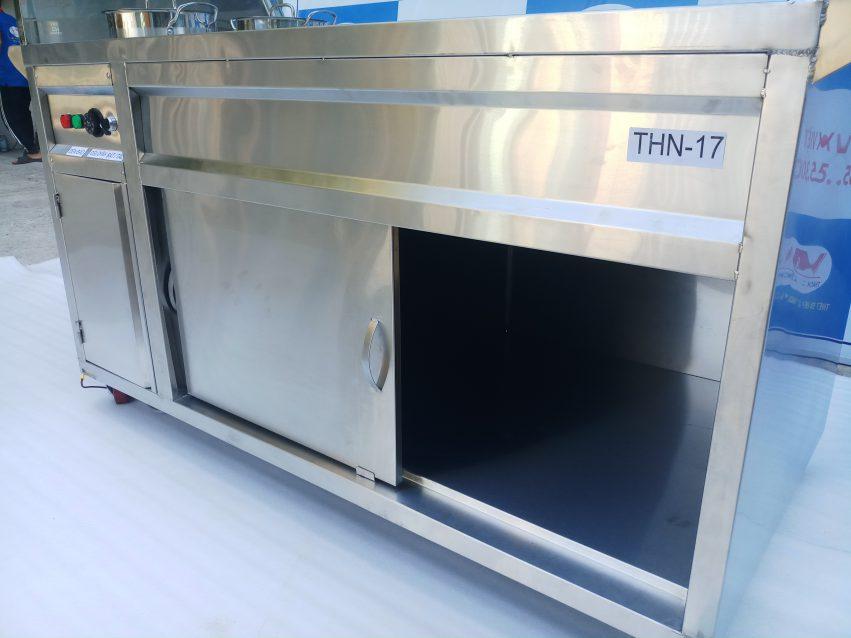 Tủ hâm nóng thức ăn| Báo giá tủ hâm nóng thức ăn| Tủ hâm nóng inox 304 cao cấp-sang trọng
