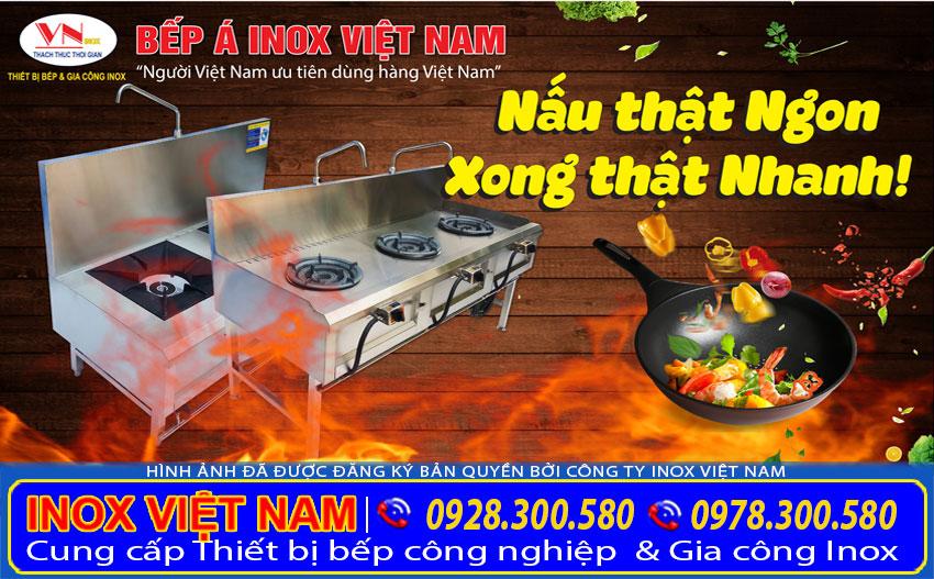 Giá bếp công nghiệp nhà hàng  Bếp công nghiệp inox  Thiết bị bếp công nghiệp  Bếp á công nghiệp