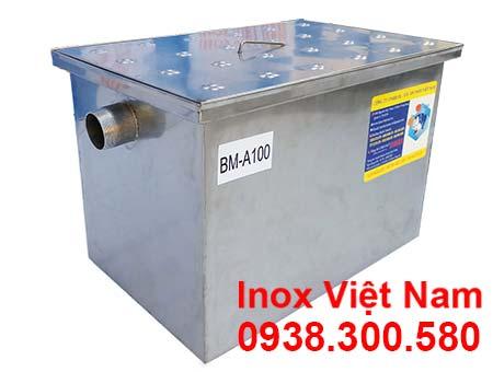 Bể tách mỡ inox, Bẫy mỡ inox,, Bể tách dầu mỡ inox, Bể tách mỡ công nghiệp, địa chỉ bán bẫy mỡ inox chất lượng cao.
