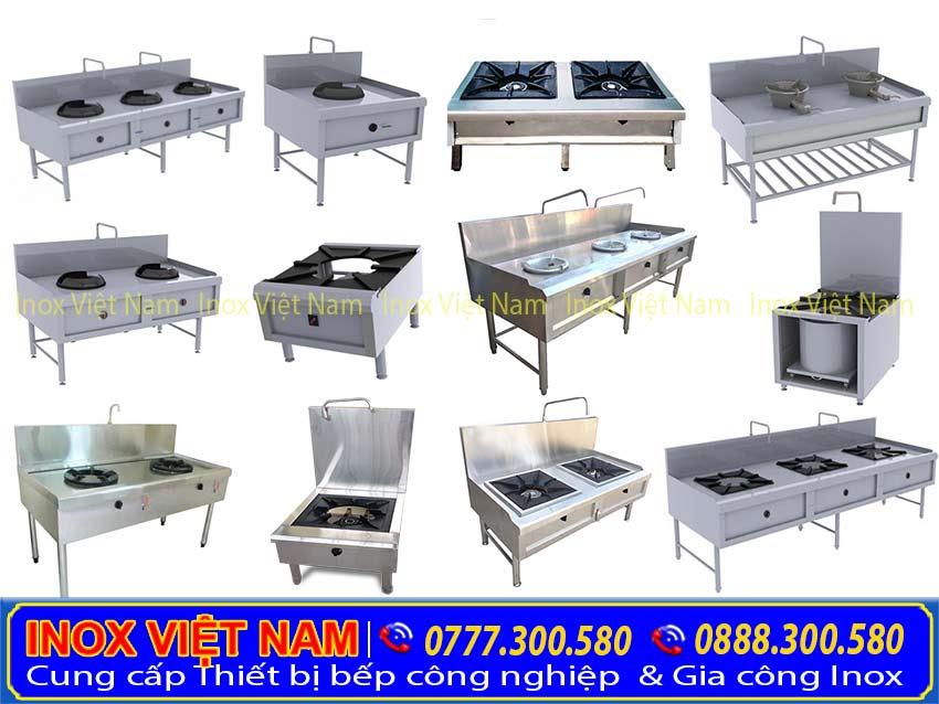 Bếp á công nghiệp | bếp gas công nghiệp | dụng cụ bếp công nghiệp | Đa dạng kích thước và mẫu mã.