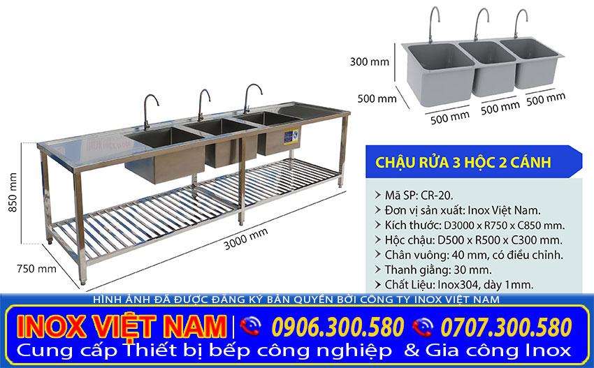 Với thiết kế thông minh sản phẩm được coi là một thiết bị nhà bếp tuyệt vời. Việc phân tách các hộc chậu giúp giữ vệ sinh an toàn tuyệt đối.